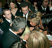 George Clooney is surrounded by fans at the Newsweek party at the Washington Hilton Hotel in Washington, D.C. prior to the annual White House Correspondents Association (WHCA) dinner, April 28, 2006..Credit: Ron Sachs / CNP.(RESTRICTION: NO New York or New Jersey Newspapers or newspapers within a 75 mile radius of New York City)
