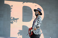 LONDON, ENGLAND - JULY 8: Gary Clark Jr performing at British Summer Time, Hyde Park on July 8, 2018 in London, England.<br /> CAP/MAR<br /> &copy;MAR/Capital Pictures