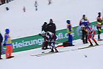 Athlets competes during the 15 Km Mass Start Classic race of Tour de ski as part of the FIS Cross Country Ski World Cup  in Val Di Fiemme, on January 9, 2016. Martin Johnsrud Sundby (NOR) wins and remains current leader.