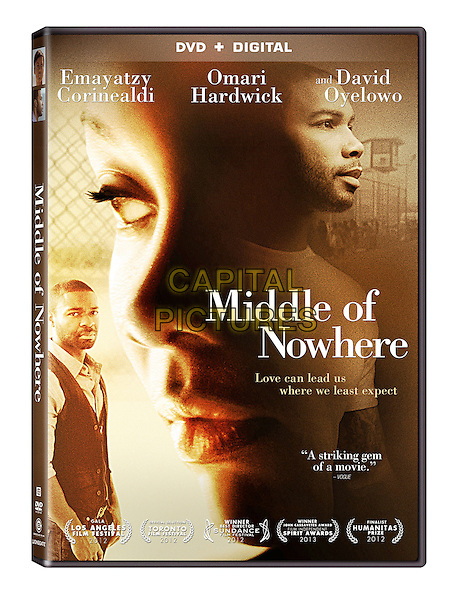 DVD COVER ART<br /> in Middle of Nowhere (2012) <br /> *Filmstill - Editorial Use Only*<br /> CAP/FB<br /> Image supplied by Capital Pictures