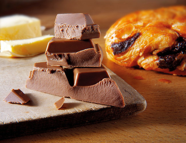 pain au chocolate - French pastry