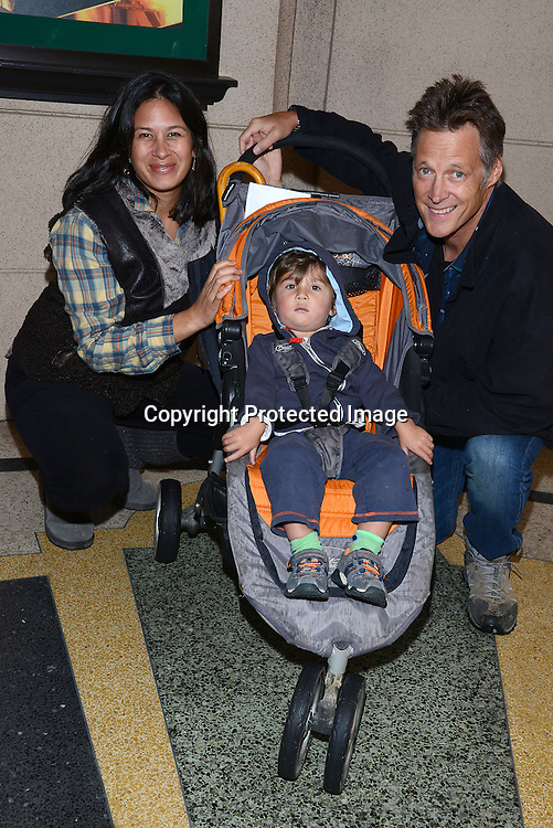 Matthew Ashford and family attends the 2015 Daytime Emmy Gifting Suite on April 25, 2015 at Warner Brothers Stuido Lot  in Burbank, California, USA. The gift lounge was presented by OffTheWallIdeas.com.