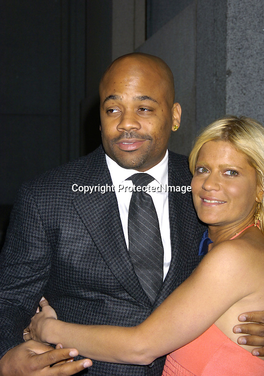 Damon Dash and Lizzie Grubman ..at The Sheryl Crow Concert at The Cipriani Wall Street Concert on April 26, 2005 at Ciprianis on Wall Street. ..Photo by Robin Platzer, Twin Images