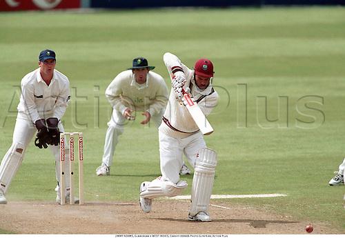 JIMMY ADAMS, Glamorgan v WEST INDIES, Cardiff 000606 Photo:Glyn Kirk/Action Plus...2000.Cricket.Batsman.batting