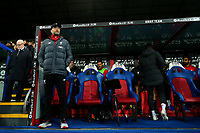 23rd November 2019; Selhurst Park, London, England; English Premier League Football, Crystal Palace versus Liverpool; Liverpool Manager Jurgen Klopp in the technical area - Strictly Editorial Use Only. No use with unauthorized audio, video, data, fixture lists, club/league logos or 'live' services. Online in-match use limited to 120 images, no video emulation. No use in betting, games or single club/league/player publications