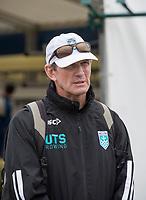 Henley-on-Thames. United Kingdom.  2017 Henley Royal Regatta, Henley Reach, River Thames. <br /> <br /> Australian Coach. Tim McLAREN<br /> <br /> {TIME}  Thursday  29/06/2017<br /> <br /> [Mandatory Credit. Intersport Images].