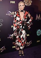 "WEST HOLLYWOOD - DECEMBER 13:  Jenny McCarthy at the premiere karaoke event for season one of ""The Masked Singer"" at The Peppermint Club on December 13, 2018 in West Hollywood, California. (Photo by Scott Kirkland/Fox/PictureGroup)"