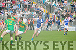 In Action KOR's Tommy Walsh wrong foots   S'Kerry's  Fionan Clifford in the Senior County Football Championship Round 1 Kerins O'Rahillys V South Kerry   at Austin Stack Park on Sunday