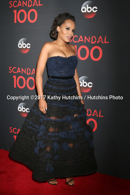 """LOS ANGELES - APR 8:  Kerry Washington at the """"Scandal"""" 100th Show Party at Fig & Olive Resturant on April 8, 2017 in West Hollywood, CA"""