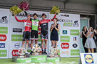 Final GC Binckbanktour 2017 podium:<br /> <br /> 1. Tom Dumoulin (NED/Sunweb)<br /> 2. Tim Wellens (BEL/Lotto Soudal)<br /> 3. Jasper Stuyven (BEL/Trek Segafredo)<br /> <br /> <br /> Binckbank Tour 2017 (UCI World Tour)<br /> Stage 7: Essen (BE) &gt; Geraardsbergen (BE) 191km