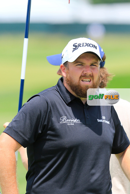 Shane Lowry (IRL) at the 11th green during Wednesday's Practice Day of the 2016 U.S. Open Championship held at Oakmont Country Club, Oakmont, Pittsburgh, Pennsylvania, United States of America. 15th June 2016.<br /> Picture: Eoin Clarke | Golffile<br /> <br /> <br /> All photos usage must carry mandatory copyright credit (&copy; Golffile | Eoin Clarke)