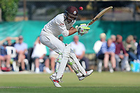Ben Foakes of Surrey narrowly evades a Neil Wagner bouncer during Surrey CCC vs Essex CCC, Specsavers County Championship Division 1 Cricket at Guildford CC, The Sports Ground on 11th June 2017