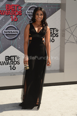 LOS ANGELES, CA - JUNE 26: Regina Hall at the 2016 BET Awards at the Microsoft Theater on June 26, 2016 in Los Angeles, California. Credit: David Edwards/MediaPunch