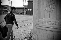 Dans le nouveau quartier de Newroz.