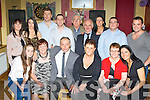 Willie Reidy, Cordal seated center who celebrated his 60th birthday with his family and friends in Hughes bar, Cordal on Saturday night..