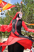 The Renaissance Fair is held each September at the historic museum of El Rancho de Las Golondrinas near Santa Fe and features dancers, knights, acrobats and many other performers celebrating the culture and lifestyle of the Medieval Middle Ages.  Clan Tynker is a family troupe that performs acrobatics, magic tricks and other feats to entertain the crowd.