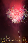The 4th of July firework show in uptown Charlotte NC. Charlotte was just rated one of the best fireworks shows in the country.