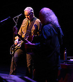 Shane Fontayne with David Crosby and  Graham Nash  at the Neal S. Blaisdell Center in Honolulu, HI, with James Raymond on keyboards and Shane Fontayne on lead guitar.