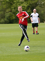 Pictured: Garry Monk. Tuesday 06 May 2014<br />