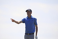 Tiarnan McLarnon (Masereene) on the 12th tee during Round 2 of the East of Ireland Amateur Open Championship 2018 at Co. Louth Golf Club, Baltray, Co. Louth on Sunday 3rd June 2018.<br /> Picture:  Thos Caffrey / Golffile<br /> <br /> All photo usage must carry mandatory copyright credit (&copy; Golffile | Thos Caffrey)
