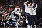 GLENDALE, AZ - APRIL 03:  the Gonzaga Bulldogs bench react to a 3-pointer during the 2017 NCAA Men's Final Four National Championship game against the North Carolina Tar Heels at University of Phoenix Stadium on April 3, 2017 in Glendale, Arizona.  (Photo by Jamie Schwaberow/NCAA Photos via Getty Images)