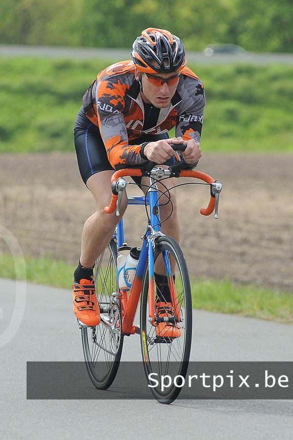20170514 GEEL : Kwarttriathlon Geel - 1/4 triathlon Geel <br /> fietsproef<br /> <br /> <br /> PHOTO SPORTPIX.BE / DIRK VUYLSTEKE