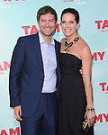 Katie Aselton and Mark Duplass at The Warner Bros. Pictures' L.A. Premiere of Tammy held at The TCL Chinese Theatre in Hollywood, California on June 30,2014                                                                               © 2014 Hollywood Press Agency