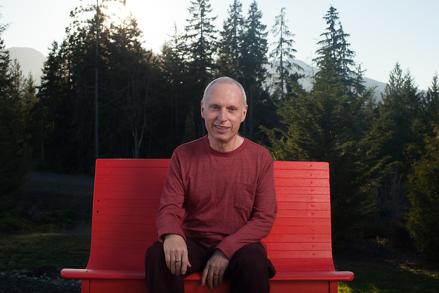 Professor Eifert photographed at his home near Port Angeles, Washington, USA on Wednesday, November 25, 2015.<br /> (Matt Mills McKnight/Getty Images for FOCUS)