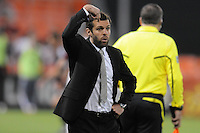 DC United Head Coach Ben Olsen.    DC United tied The Colorado Rapids 1-1, at RFK Stadium, Saturday  May 14, 2011.