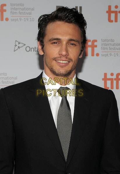 "JAMES FRANCO .""127 Hours"" Premiere - 2010 Toronto International Film Festival held at Ryerson Theatre, Toronto, Ontario, Canada, 12th September 2010..portrait headshot black suit white shirt tie smiling  .CAP/ADM/BPC.©Brent Perniac/AdMedia/Capital Pictures."