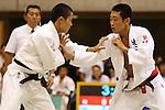 (L-R)<br /> Taichi Suyama,<br /> Wataru Umekita,<br /> September 13, 2014 - Judo : <br /> All Japan Juior Judo Championships <br /> Men's -55kg Final<br /> at Saitama Kenritsu Budokan, Saitama, Japan. <br /> (Photo by Shingo Ito/AFLO SPORT) [1195]