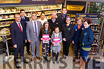 Launching the Mary Buckley O&rsquo;Keeffe Memorial walk in the Garvey Supervalu store in Tralee on Tuesday morning. <br /> Front l to r: Seamus O&rsquo;Connor, Emma and Chloa O&rsquo;Keeffe, Back l to r: Kevin McCarthy, Gda Aidan O'Mahony, Marisa Reidy (Recovery Haven), Brendan O&rsquo;Keeffe, David Moran, Breda Dyland , Maureen O'Brien and Trish Kelly