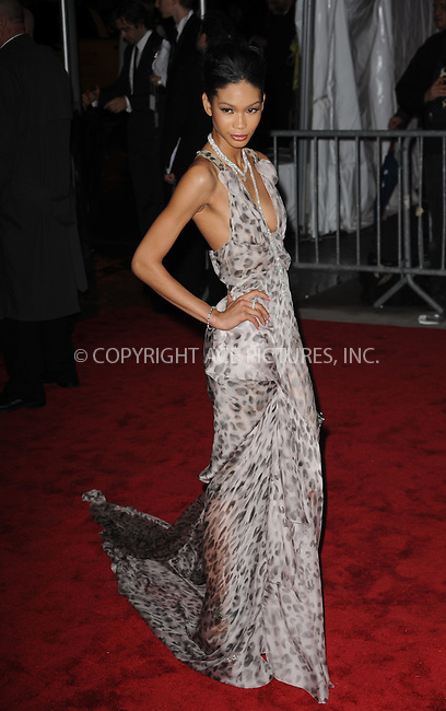 WWW.ACEPIXS.COM . . . . . ....May 4 2009, New York City....Chanel Iman arriving at 'The Model as Muse: Embodying Fashion' Costume Institute Gala at The Metropolitan Museum of Art on May 4, 2009 in New York City.....Please byline: KRISTIN CALLAHAN - ACEPIXS.COM.. . . . . . ..Ace Pictures, Inc:  ..tel: (212) 243 8787 or (646) 769 0430..e-mail: info@acepixs.com..web: http://www.acepixs.com