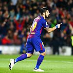 League Santander 2017/2018. Game: 25.<br /> FC Barcelona vs Girona FC: 6-1.<br /> Luis Suarez.