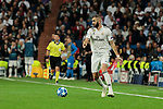 Real Madrid's Karim Benzema during UEFA Champions League match between Real Madrid and FC Viktoria Plzen at Santiago Bernabeu Stadium in Madrid, Spain. October 23, 2018. (ALTERPHOTOS/A. Perez Meca)
