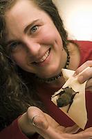Pipistrelli.Bats. .Le foto sono messe gentilmente a disposizione dal prof. Paolo Agnelli, responsabile del progetto del dipartimento di zoologia dell'Università di Firenze...
