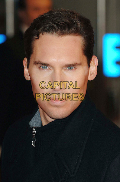"BRYAN SINGER .At the UK Film Premiere of ""Valkyrie"", Odeon Leicester Square, London, England, January 21st 2009..portrait headshot black zip.CAP/WIZ.©Wizard/Capital Pictures"