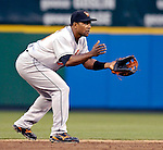 18 May 2007: Baltimore Orioles shortstop Miguel Tejada in action against the Washington Nationals at RFK Stadium in Washington, DC. The Orioles defeated the Nationals 5-4 in the first game of the 3-game interleague series...Mandatory Photo Credit: Ed Wolfstein Photo