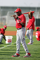 Dusty Baker, manager. Cincinnati Reds spring training workouts at the Reds new complex, Goodyear, AZ - 02/19/2010.Photo by:  Bill Mitchell/Four Seam Images.