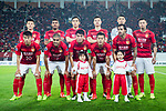 Guangzhou Evergrande squad squad pose for team photo during the AFC Champions League 2017 Group G match between Guangzhou Evergrande FC (CHN) vs Kawasaki Frontale (JPN) at the Tianhe Stadium on 14 March 2017 in Guangzhou, China. Photo by Marcio Rodrigo Machado / Power Sport Images