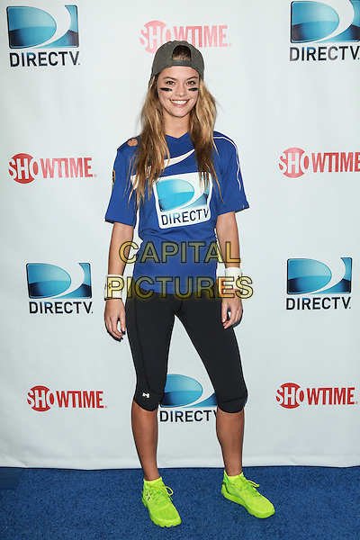 NEW YORK, NY - FEBRUARY 1: Nina Agdal attends the DirecTV Beach Bowl at Pier 40 on February 1, 2014 in New York City. <br /> CAP/MPI/COR<br /> &copy;Corredor99/ MediaPunch/Capital Pictures