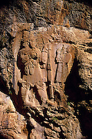 Late Hittite Aramaic Bas Relief second half of 7th Century B C Invriz near Eregli Turkey.