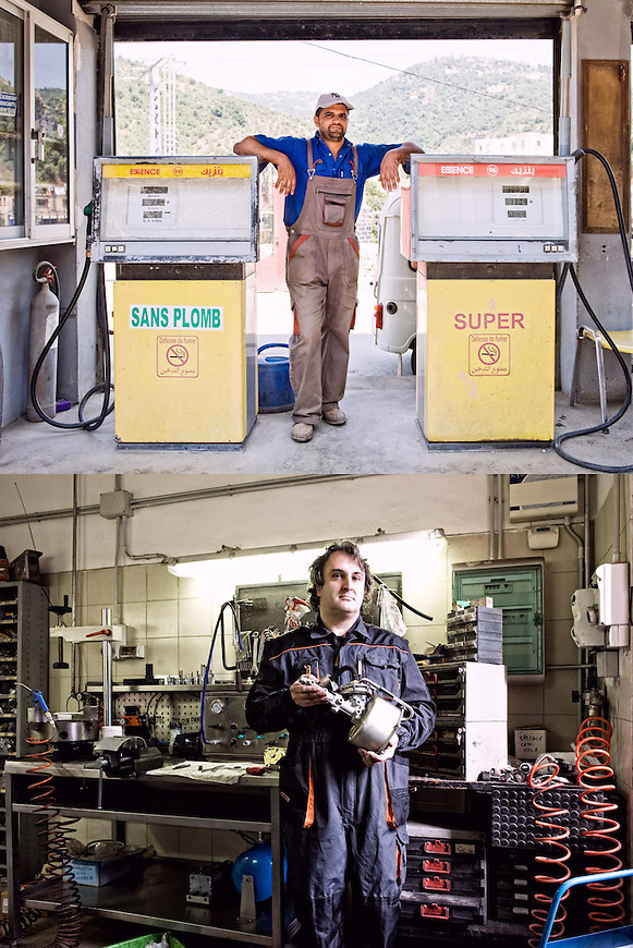 MOTORI A BENZINA<br /> Hakim Ould Salah, benzinaio<br /> Elioenai Barbin, meccanico<br /> <br /> Gira, gira, gira<br /> Ma senza benzina<br /> sans plomb o super<br /> il motore non va,<br /> non pu&ograve; funzionare<br /> <br /> E gira il mondo gira<br /> un turbine la vita<br /> fili spessi attorcigliati<br /> Gira gira gira<br /> ma credete a me,<br /> senza un motore <br /> tra le mani <br /> vita non c&rsquo;&eacute;.