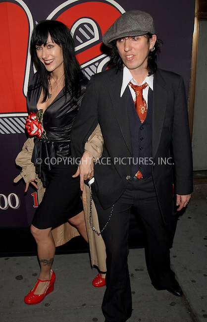 WWW.ACEPIXS.COM . . . . . ....NEW YORK, MAY 4, 2006....Karman Guy and Sammy Yaffa of the New York Dolls at the Rolling Stone Magazine Celebrates their 1,000th Issue at the Hammestein Ballroom.......Please byline: KRISTIN CALLAHAN - ACEPIXS.COM.. . . . . . ..Ace Pictures, Inc:  ..(212) 243-8787 or (646) 679 0430..e-mail: picturedesk@acepixs.com..web: http://www.acepixs.com