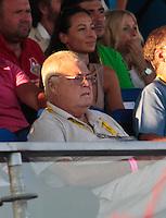 RAVENNA, ITALIA, 10 DE SETEMBRO 2011 - MUNDIAL BEACH SOCCER / BRASIL X PORTUGAL -  Ricardo Teixeira presidente da CBF e visto durante da partida entre Brasil x Portugal, valida pelas valida pela semi-final da Copa do Mundo de Beach Soccer no Estadio Del Mare, em Ravenna, Italia neste sabado (10).FOTO: VANESSA CARVALHO - NEWS FREE.
