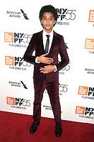 Jaden Michael bei der Premiere von 'Wonderstruck' auf dem 55. New York Film Festival in der Alice Tully Hall. New York, 07.10.2017