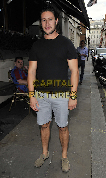 LONDON, ENGLAND - JULY 15: Tony Discipline attends the Mike Hough's EP &quot;Lost In Love&quot; launch party, Sanctum Soho Hotel, Warwick St., on Tuesday July 15, 2014 in London, England, UK.<br /> CAP/CAN<br /> &copy;Can Nguyen/Capital Pictures