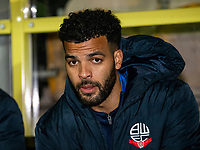 Bolton Wanderers' Jacob Mellis pictured before the match <br /> <br /> Photographer Andrew Kearns/CameraSport<br /> <br /> The Premier League - Leicester City v Aston Villa - Monday 9th March 2020 - King Power Stadium - Leicester<br /> <br /> World Copyright © 2020 CameraSport. All rights reserved. 43 Linden Ave. Countesthorpe. Leicester. England. LE8 5PG - Tel: +44 (0) 116 277 4147 - admin@camerasport.com - www.camerasport.com
