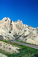 Badlands National Park. South Dakota USA