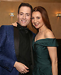 Randy Rainbow and Donna Murphy attends the Abingdon Theatre Company Gala honoring Donna Murphy on October 22, 2018 at the Edison Ballroom in New York City.